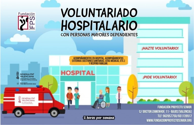 Voluntariado hospitalario