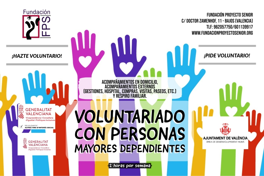 Voluntariado domiciliario 2020